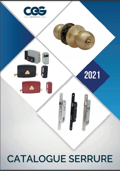 Catalogue Serrure 2021